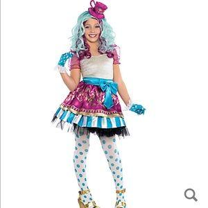 Madeline hatter big girls costume
